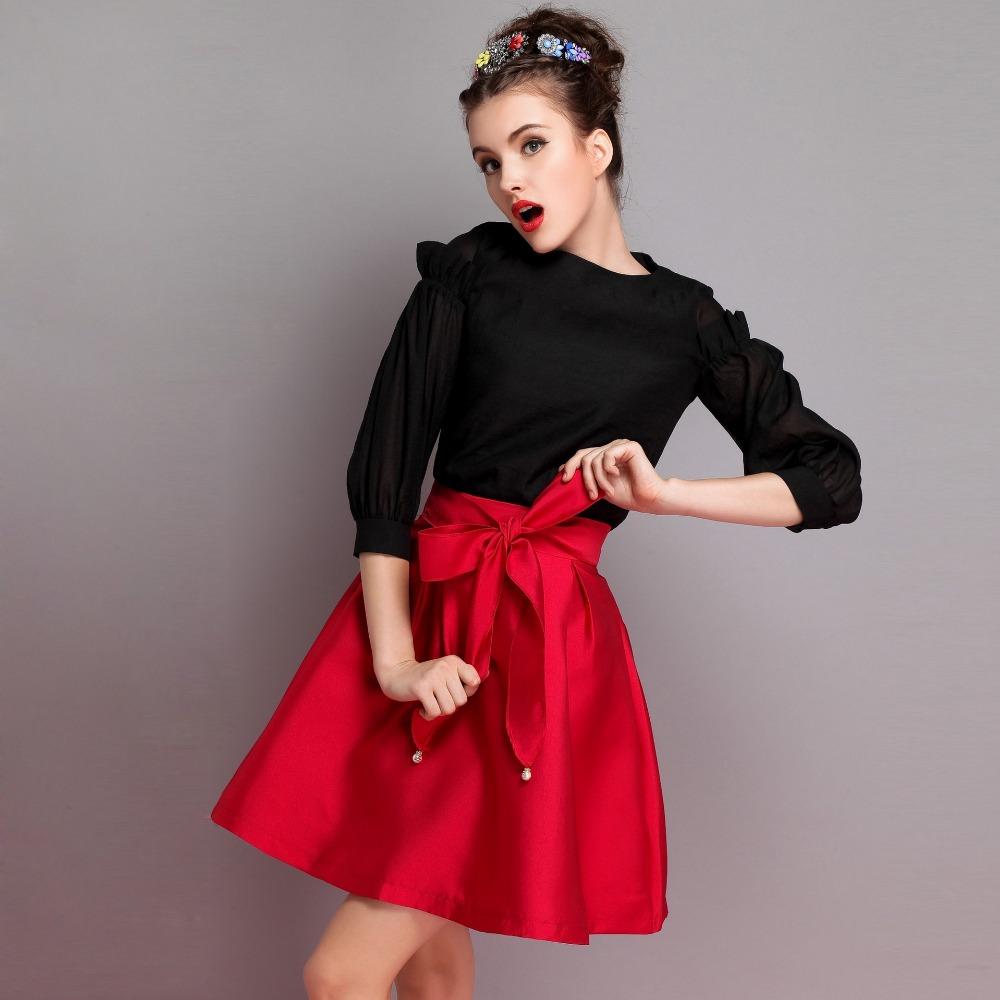 5df9eb865c Escoge la falda ideal para tu tipo de cuerpo