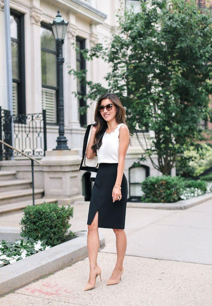 e32ae1694b Luce bella en la oficina con estos outfits con falda