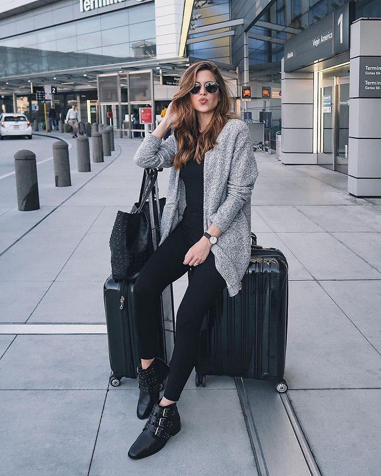 Look para viajar en avión 2018